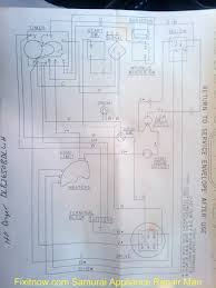 hotpoint dryer dlb2650bdlwh wiring diagram fixitnow com samurai
