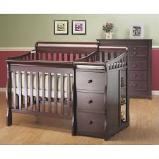 mini crib and changing table sorelle newport 3 in 1 mini convertible crib changer combo in