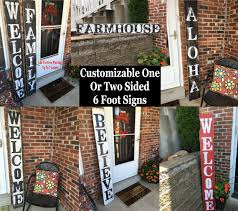 wooden signs decor custom welcome signs rustique signs crafted rustic wood signs