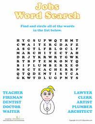 free worksheets career worksheets for kids free math