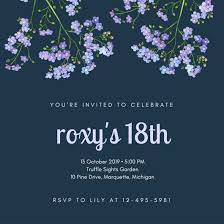 invitation card 18th birthday 100 images 18th birthday