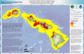 Hawaii Island Map Whale Watching Guide For The Big Island Boat Tours And Diy From