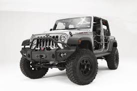 jeep lifestyle lifestyle front winch bumper fab fours