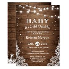 baby it s cold outside baby shower winter baby shower invitations announcements zazzle