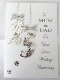 13 best cards images on 25th wedding anniversary