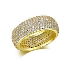 small stone rings images Free shipping full small crystal shine stone rings for women gold jpg