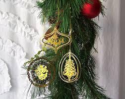 brass ornament etsy