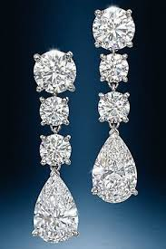 big diamond earrings 9 beautiful designer big earrings for women styles at
