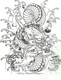 26 best japanese dragon tattoo stencil images on pinterest 40