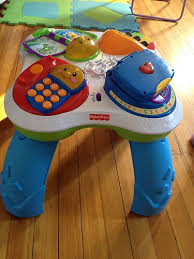 toy story activity table laugh learn musical activity table w phone fisher price ebay