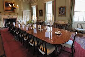 Long Dining Room Chandeliers Brown Oval Wooden Long Dining Table Black Wooden Dining Chair With