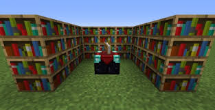 Minecraft Enchanting Table Bookshelves Minecraft Hopes New Structures Hubpages