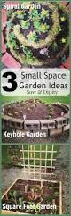 three small space garden ideas