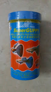super guppy flake 58gram untuk ikan guppy molly tetra harga rp