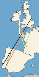 map of pairs black tailed godwit pairs the importance of synchrony wadertales