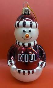 niu northern illinois huskies vcb niu glass