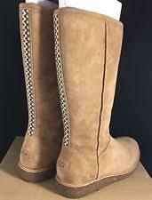 ugg australia s the knee ugg australia zip suede knee high boots for ebay
