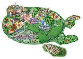 Disney World Resort Map Map Of Disneyland Paris And Walt Disney Studios