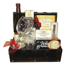 wine and cheese gifts celebration wine cheese gift basket presented in a wooden