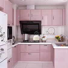 kitchen cabinet cover paper amazon com yazi gloss self adhesive vinyl kitchen cupboard door