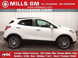 buick encore silver new 2018 buick encore for sale baxter mn