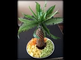 edible fruit centerpieces edible fruit arrangement pineaple palm tree centerpiece
