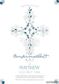 communion invitations boy boys confirmation baptism or christening or holy