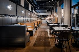 Restaurant Pendant Lighting Guests Enjoy Meal Modern Restaurant Pendant Lighting In Sweden