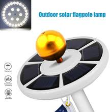Flag Pole Lights Solar Powered Solar Flagpole Light Reviews Online Shopping Solar Flagpole