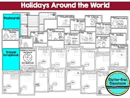 holidays around the world for students clutter free classroom