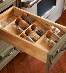 In Drawer Spice Racks Spice Drawer Insert Kit
