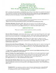 Staff Accountant Resume Example 100 Sample Resume Experienced Cpa Best Staff Accountant
