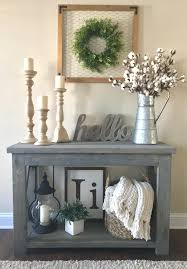 rustic x console table modified ana white s rustic x console table 48 wide and no middle