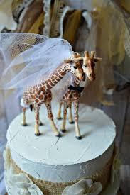 giraffe cake topper giraffe woodlands wedding cake topper giraffe wedding just married