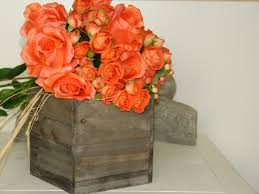 Modern Wood Planter by Large Wood Box Woodland Planter Flower Box Rustic Pot Square