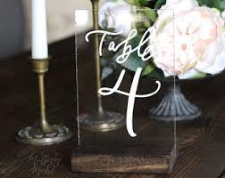 acrylic table numbers wedding new acrylic wedding table numbers with stands rustic tabl on modern