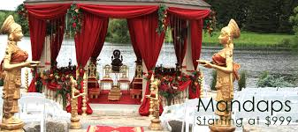 decoration for indian wedding wedding mandap toronto hindu wedding decoration for indian
