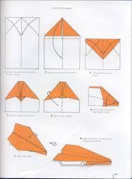 origami avions de papier