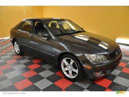 lexus sedan 2004 2004 graphite gray pearl lexus is 300 39739716 gtcarlot com