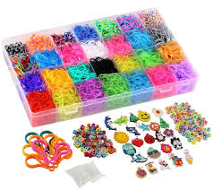 bracelet looms bands images Rainbow loom rubber bands refill 10000pc bracelet kit storage case jpg