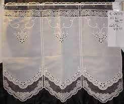 Cafe Curtain Pattern German Lace Curtains And German Drapery Fabrics Cafe Curtain