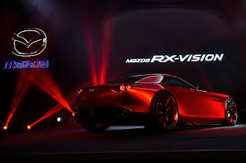 about mazda cars mazda rx vision concept car spins in to the 2015 tokyo motor show