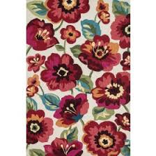Hibiscus Rug Kids Floral Rugs Rosenberry Rooms