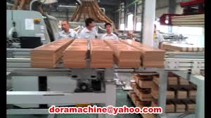 End Of Line Laminate Flooring Automatic Laminate Flooring Line Double End Tenoner Laminate Floor