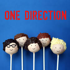 5 one direction british boy band cake pops for birthday karaoke