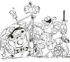 fosters imaginary friends coloring pages coloring