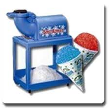 sno cone machine rental concession machines happy party rental miami