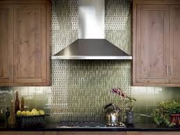 interior kitchen backsplash glass tile green pertaining to
