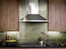 Green Kitchen Backsplash Tile Interior Kitchen Backsplash Glass Tile Green Pertaining To