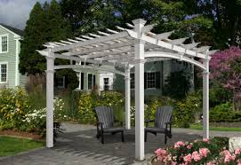 White Vinyl Pergola by Everything You Need To Know About Pergola Kits